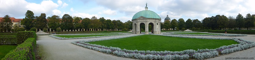 Hofgarten in Munich, Germany