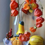 Simple autumn decoration idea