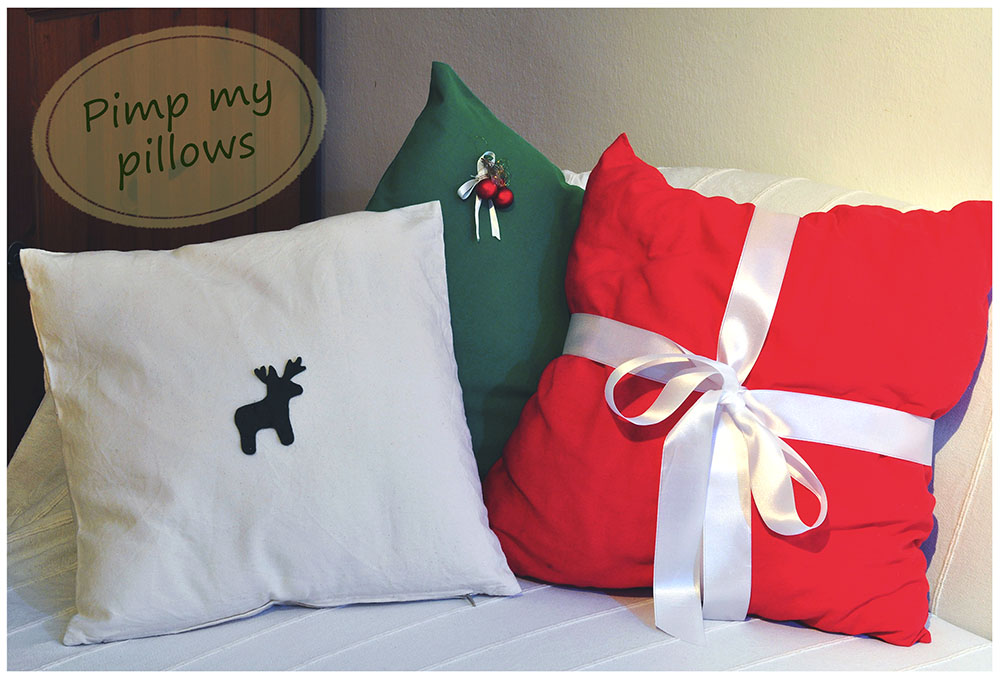 pillows pimped up