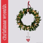 Quick Christmas wreath