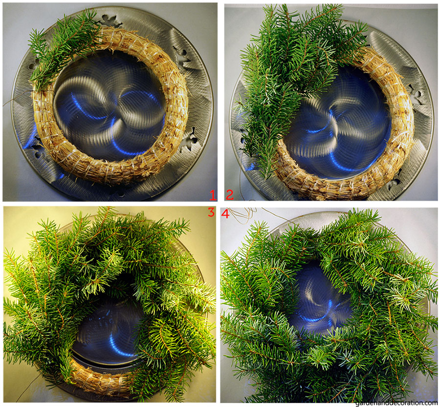 Easy done Advent wreath