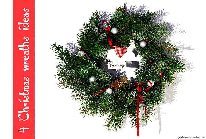 4 Christmas wreath ideas
