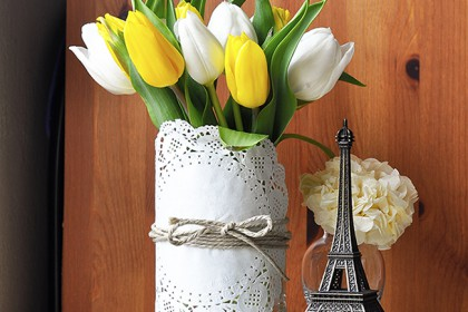 3 ideas for arranging a vase