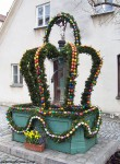 Easter fountains in Bavaria