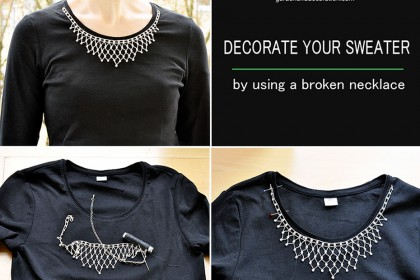 How to use broken jewellery?