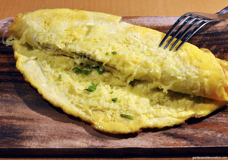Stuffed omelette recipe