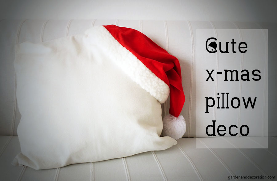 cute xmas pillow