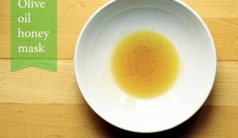 Olive oil honey mask