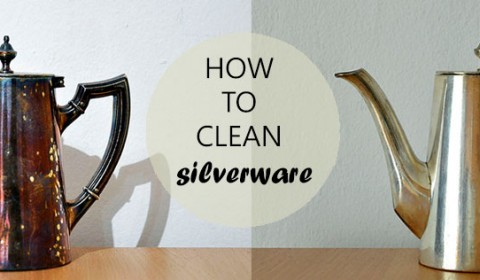 How to clean silverware