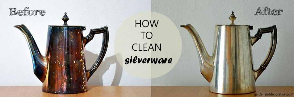How to clean silverware?