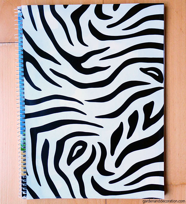 zebra notebook