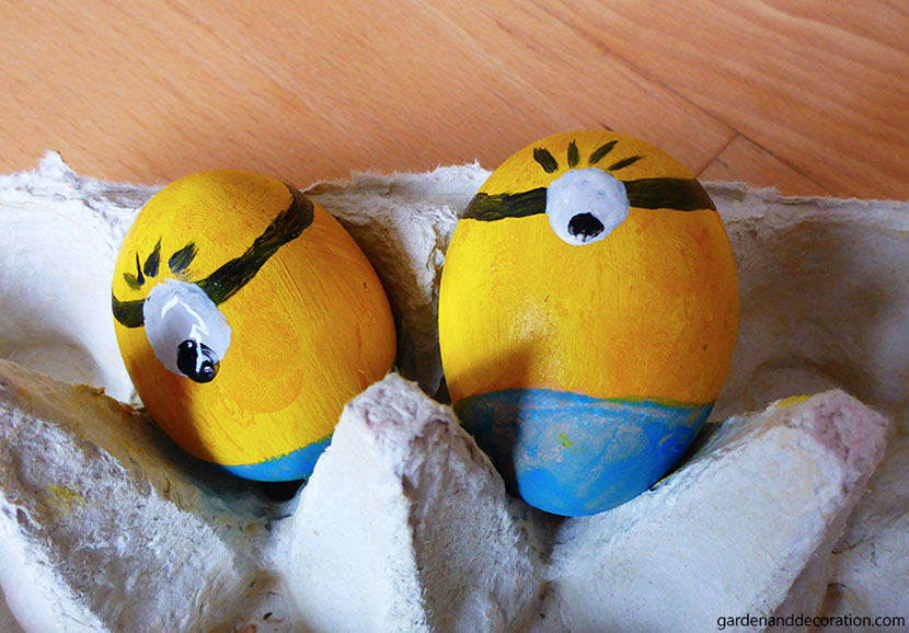 Creative Easter eggs_minions