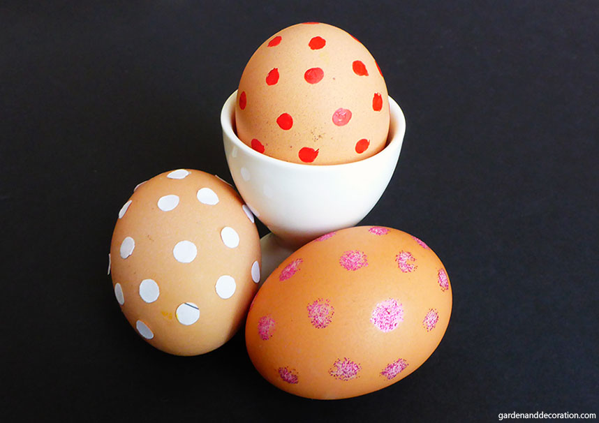 Creative Easter eggs_points