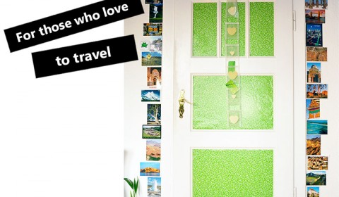 Creative idea for those who love to travel - -✈
