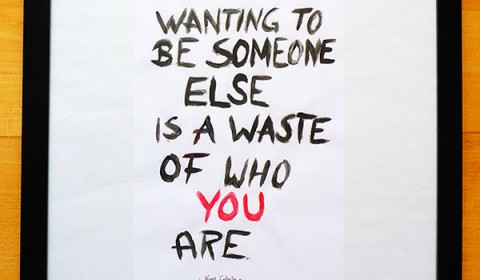 Wanting to be someone else..
