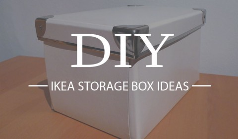 4 DIY Ikea storage box ideas