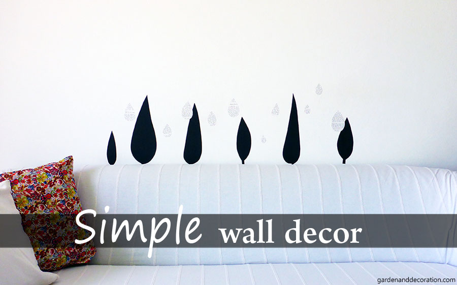 simple wall decoration