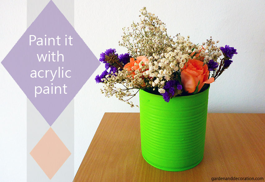 How to reuse empty tins?