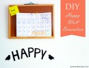 Cute DIY wall decoration