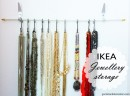 Jewellery storage Ikea hack