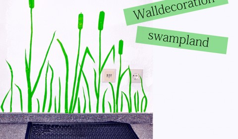Easy walldecoration: swampland