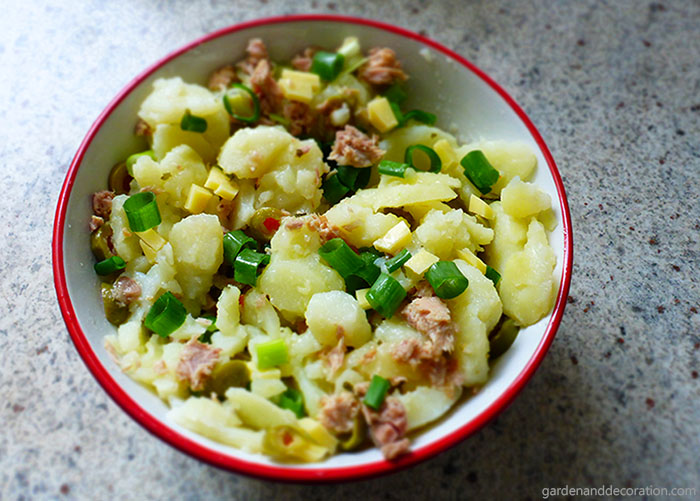 easy made potatosalad