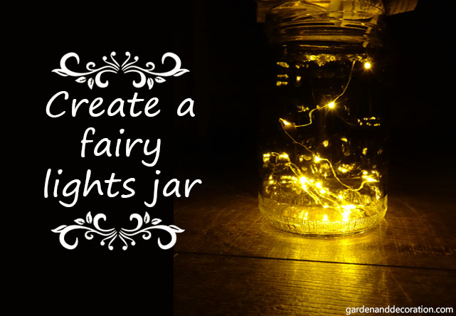 Fairy lights ideas for your home_lights in jar