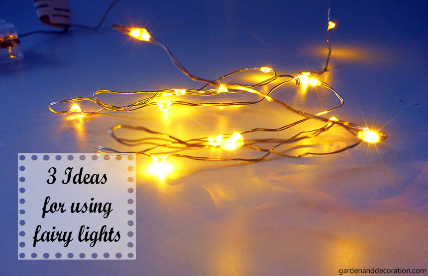 Fairy lights ideas for your home