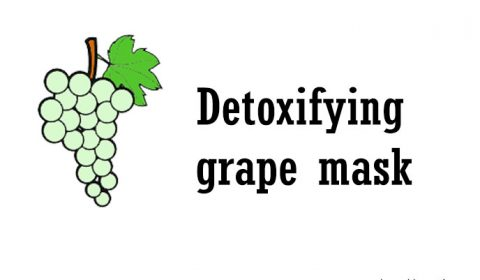 Grape mask for your face