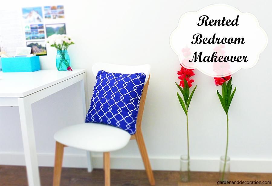 rented room makeover