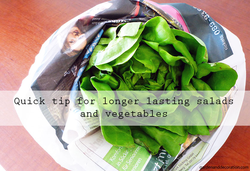 longer lasting vegetables