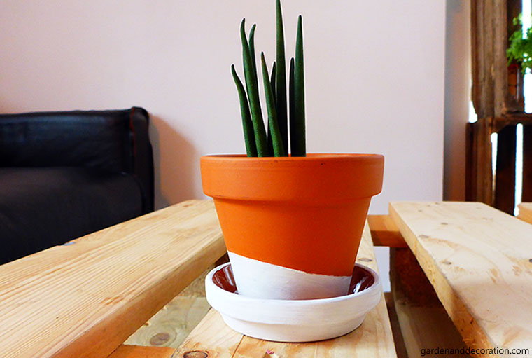 DIY: dipped pot