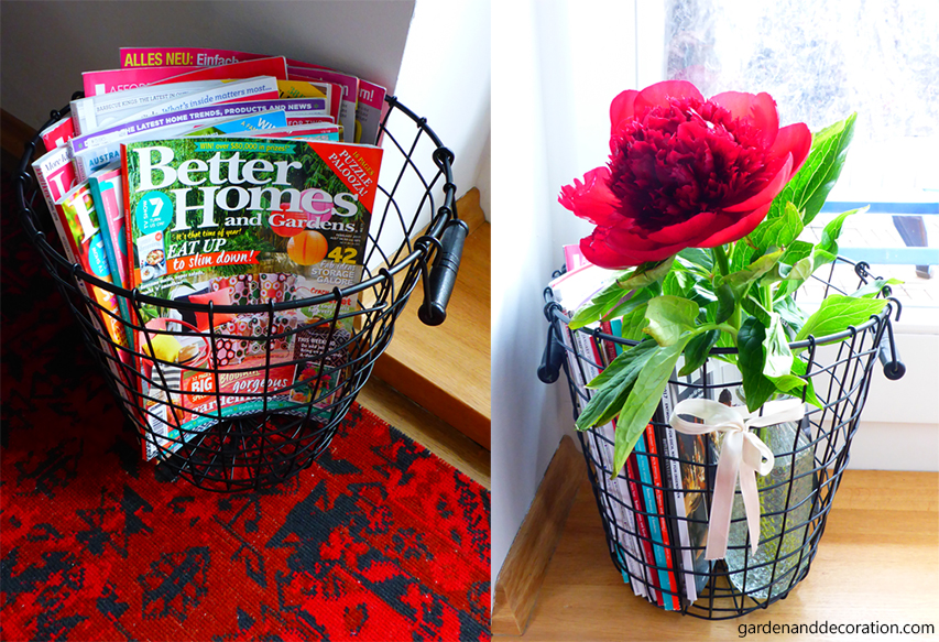 how to use a wire basket