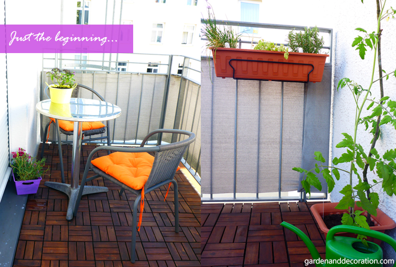balcony makeover
