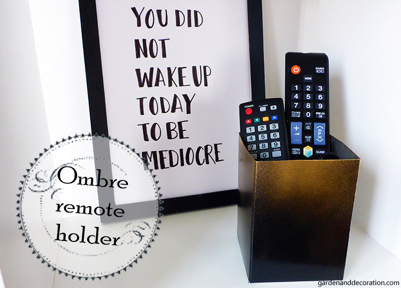 ombre remote holder