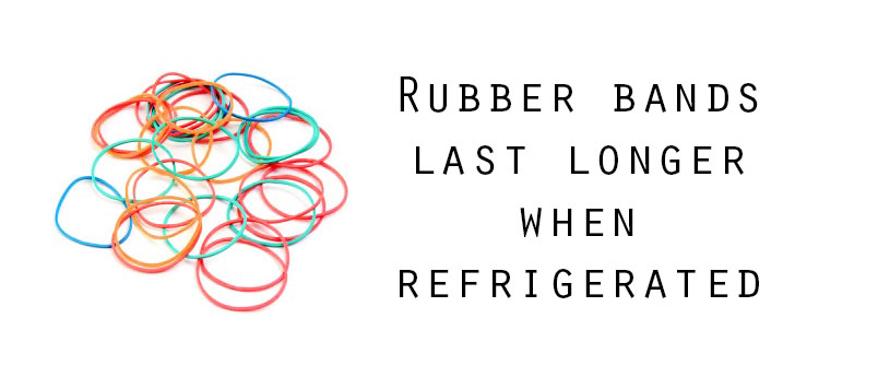 longer lasting rubber band