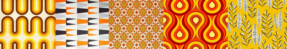 60s styled wallpaper