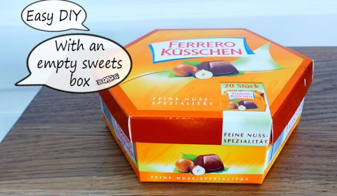 What to do with an empty sweets box?