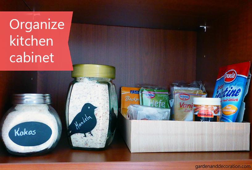 organized and clutter free kitchen