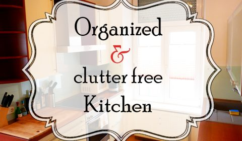 How to organize and keep a kitchen clutter free?