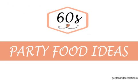 Food ideas for the 60s themed party