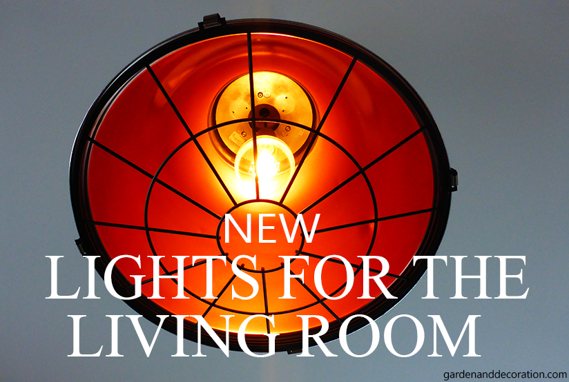 new ceiling light for the living room