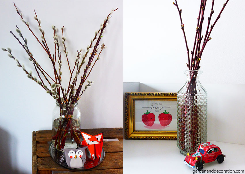 Lovely Decoration Ideas For Spring With Twigs Garden Decoration