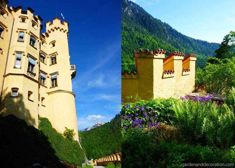Palace of Hohenschwangau in Bavaria