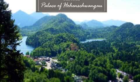 Visiting the palace of Hohenschwangau in Bavaria