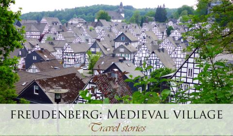 Citytrip to Freudenberg in North Rhine-Westphalia, Germany