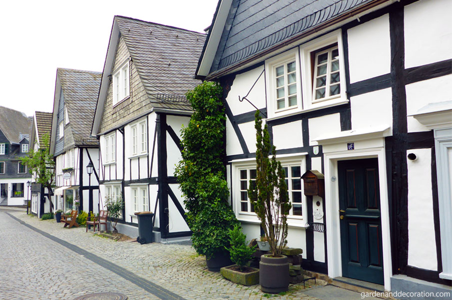 Freudenberg - a medieval village in North Rhine-Westphalia.