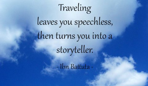 Traveling leaves you speechless