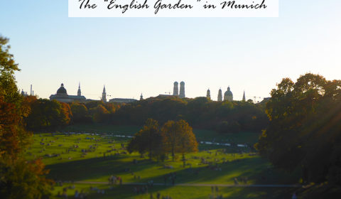 The English Garden in Munich