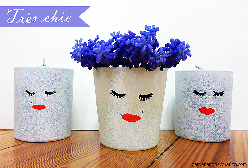 DIY: Chic tiny flower vases